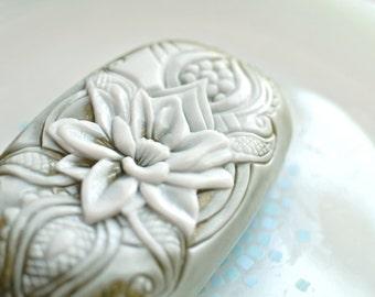 LOTUS SILICONE SOAP mold bar mould