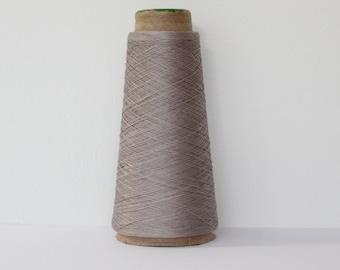 Hand Dyed Cotton Yarn- Soft Grey