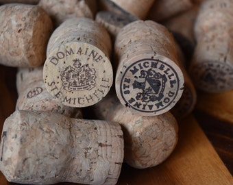 25 Used Domaine Ste Michelle Champagne Corks   - All Natural Recycled Champagne Corks