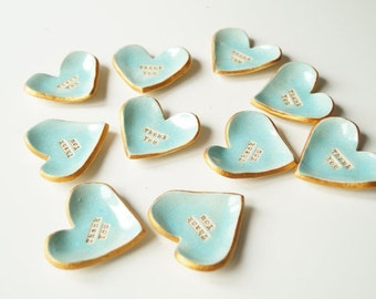 Wedding favors for guests, hearts favors, weddind fovours, thank you tag, personalized favors