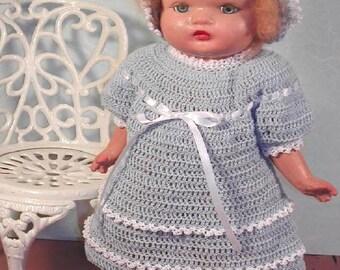 "Crochet 18"" Baby Doll Pattern- #276 BABY DOLL"