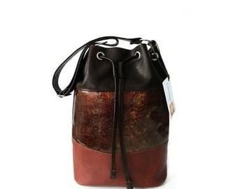 SALE - 20% real leather shoulder bag