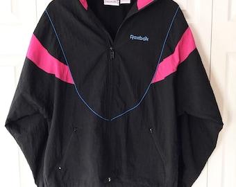 90s Reebok Windbreaker Jacket Large