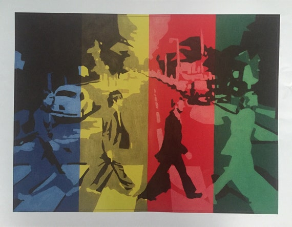 "Print Abbey Road 11"" by 14"""