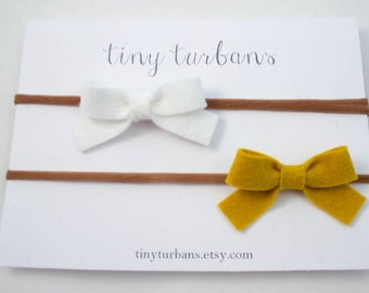 Felt Bow-Choose 2, Felt Sailor Bow