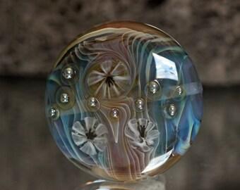 Amadeus - Lampwork focal lentil bead
