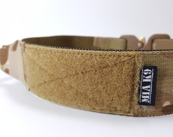 """Add a Velcro area (3""""long) to your collar, Customize your dog's gear! - Complementary product, not to be sold separately"""