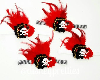 Pirate Shabby Headband