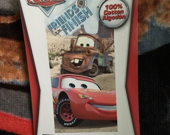 Cars Beach Towel, Lightning McQueen Beach Towel, Mater Beach Towel