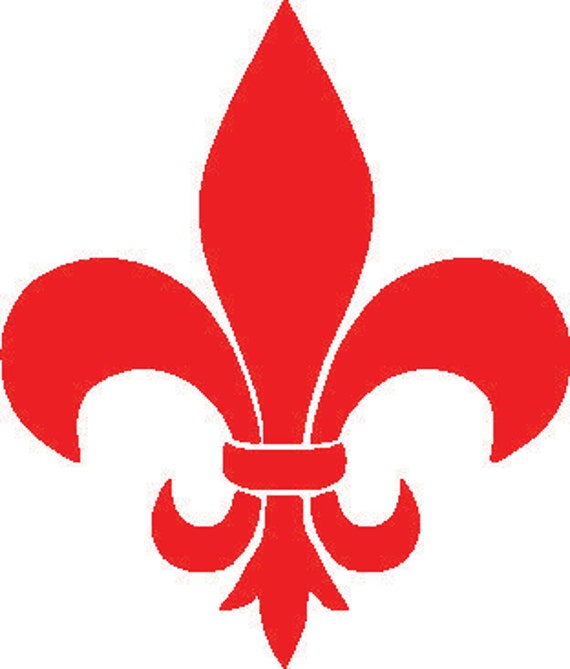 Fleur De Lis Decal French Decor Wall Decals By Tiffinsdesigns