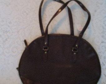 Vintage Liz Claiborne Leather Handbag