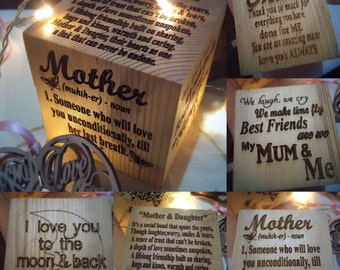 memory blocks for those special people in your life