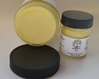 Original Whipped Body Butter, moisturizing, all natural, hydrating, 8 oz