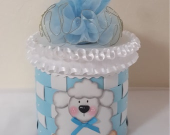Baby shower centerpiece, Baby boy centerpiece, Ballon holder centerpiece, boy baby shower centerpiece