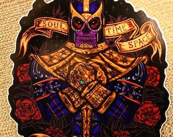 Day of the Dead Titan, Sticker.