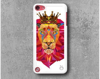 iPod Touch 5 Case Lion King Geometric