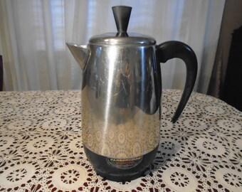 Faberware 8 cup Coffee Percolator / Coffee Percolator / Faberware Percolator / Coffee pot / Faberware Coffee Percolator