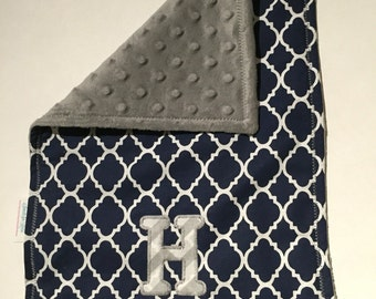 Monogrammed Burp Cloth - Free USA Shipping