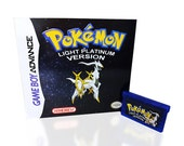 Pokemon Light Platinum Version for Gameboy Advance - Available Game Only or Game in Box!