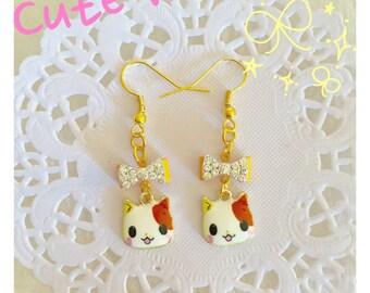 30% Off!! Cute Kitty Earrings
