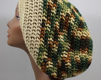 Camouflage Woodsy Slouchy Hat