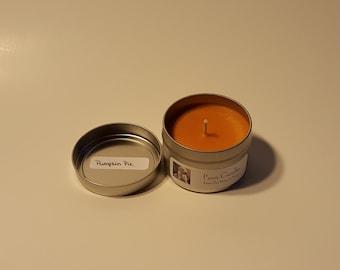 Pumpkin Pie Tin Candle