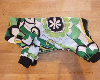 """The onesie """"Flower power """" for Sphynx Cat - Cat/Dog Clothes"""