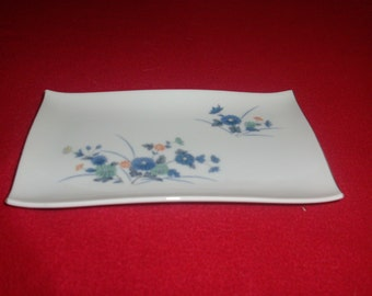 Vintage decorative omc Japan small plate or tray