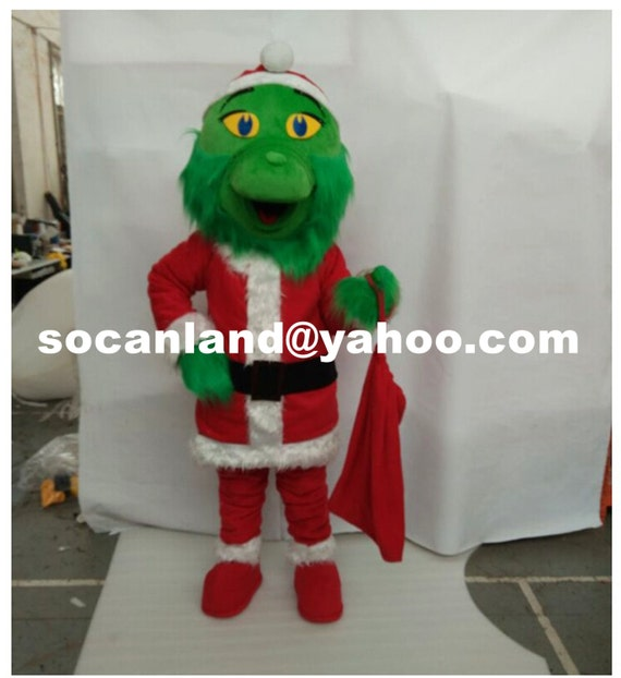 Grinch mascot costume grinch xmas costume grinch xmas cosplay grinch