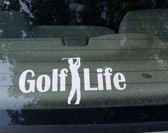 Golf Life Vinyl Decal