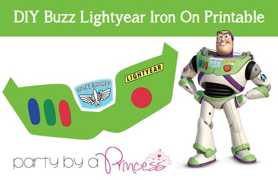 Buzz lightyear diy iron on t shirt printable pronofoot35fo Gallery