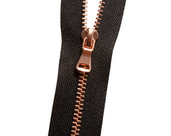 Metal No. 3 Zipper - Copper