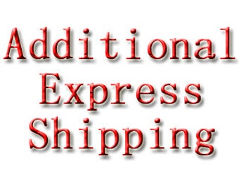 Any Size Express Shipping Additional Cost