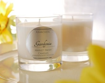 Gardenia Scented Soy Candle 8oz