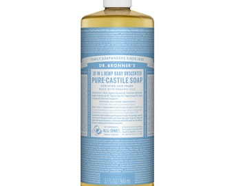 Dr. Bronner's Pure - Castile Liquid Soap, 946ml