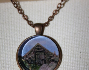 Rock Ireland House Photo Necklace