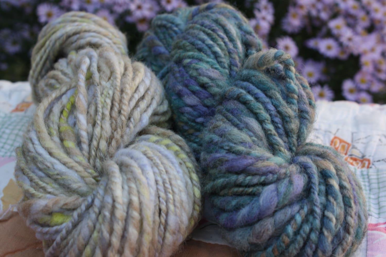 Knitting Handspun Yarn : Maui knitting yarn handspun