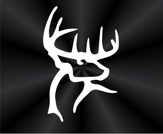 buck commander decals deer rack hunting tablet laptop