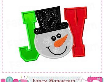 JOY applique,Joy design,Snowman design,Snowman,New Year applique,JOY embroidery,Snowman applique,Snowman design,New Year.
