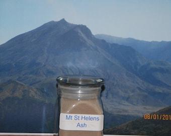 Mount St. Helens Valcanic ash