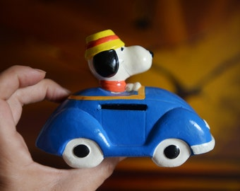 SALE!!! Was 30 now 23! Vintage Snoopy in  Volkswagon Convertible