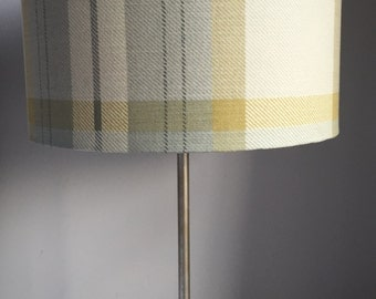 Country blue/green Tartan Plaid Lampshade