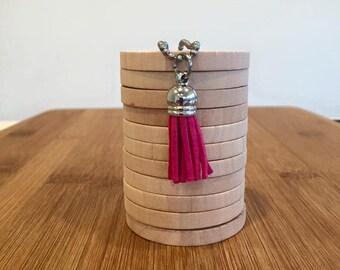 SHORT Trendy Tassel Necklace