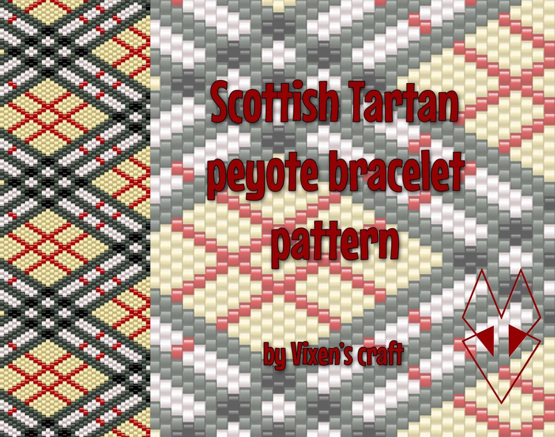 Peyote Bracelet Pattern Even Count Peyote Pattern Peyote