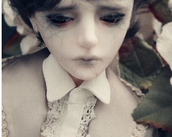 1/4 teenager bjd head,  zoe, handmade, bjd doll head, limted  edition without makeup