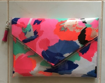 Colourful Contemporary Clutch