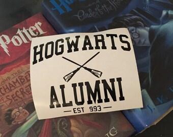 Hogwarts Alumni Decal