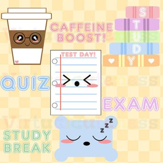 Hasil gambar untuk exam kawaii