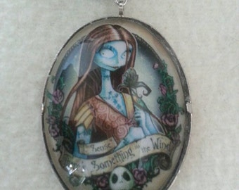 Nightmare Before Christmas Sally Cabochon