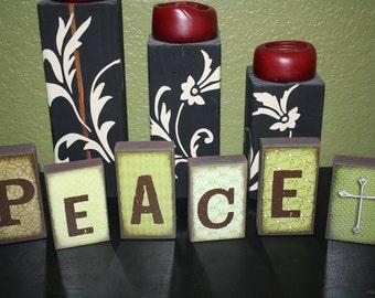 PEACE Block Set